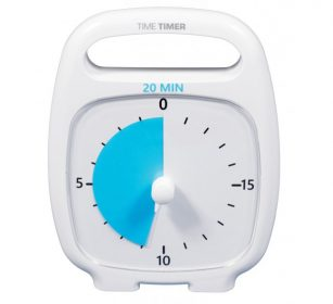 Time Timer Plus weiss mit 20 Minuten