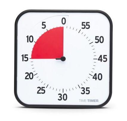 Großer Time Timer 30 x 30 cm, Neue Version