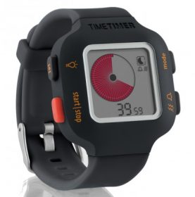 time timer watch junior orange grau