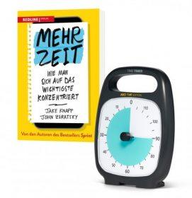 "Time Timer PLUS Make Time Edition + Buch ""Mehr Zeit"""
